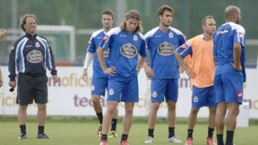 Фанаты «Депортиво» сорвали тренировку клуба