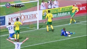 «Кубань» провалила матч с «Динамо»