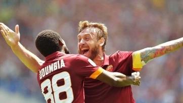 «Рома» одержала трудовую победу