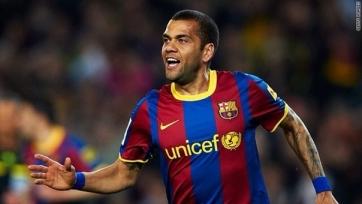 Дани Алвес остается в «Барселоне»
