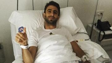 Николас Пареха лег на операцию