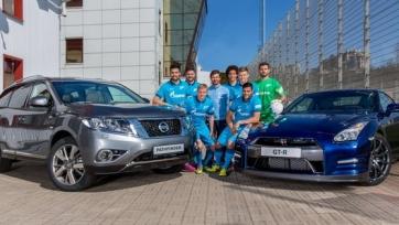 Футболисты и тренеры «Зенита» пересаживаются на Nissan