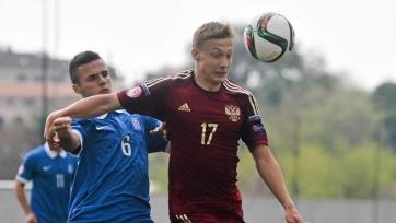 Сборная России спаслась в матче с Грецией