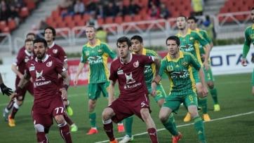 «Рубин» благодаря голу Оздоева продолжает борьбу за еврокубки