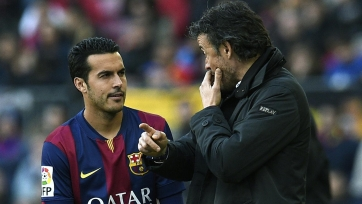 Луис Энрике: «Педро – футболист топ-уровня»