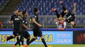 «Лацио» вдевятером проиграл «Интеру»