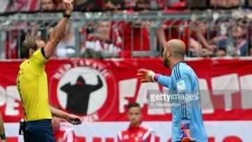 Немецкий футбольный союз дисквалифицировал Пепе Рейну на два матча