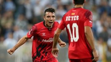 «Севилья» сделает Аспаса полноправным игроком своего клуба
