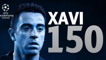 В активе Хави уже 150 матчей в рамках ЛЧ