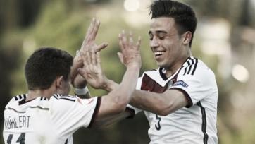 Сборная Германии вышла в полуфинал ЕвроU17