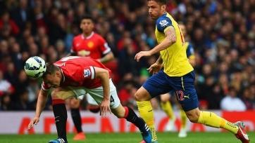 «Арсенал» вырвал ничью в матче с «Манчестер Юнайтед»