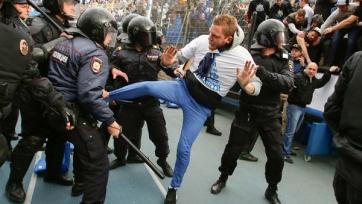 Питерский ОМОН отбил атаку  фанатов «Зенита»