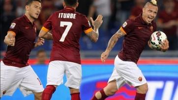 «Рома» одержала волевую победу над «Удинезе»