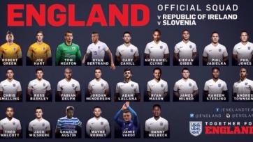 Сразу три футболиста впервые получили приглашение в сборную Англии