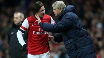 Венгер: «Росицки остается в «Арсенале»