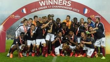 Сборная Франции стала чемпионом Европы U17