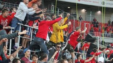 Болельщики «Спартака» устроили обструкцию игрокам команды после поражения от «Уфы»