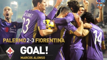 «Фиорентина» вырвала победу у «Палермо»