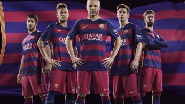 «Барселона» изменит дизайн футболок в следующем году