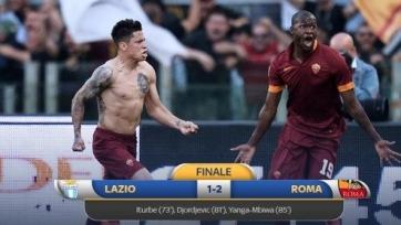 «Рома» торжествует в дерби и завоевывает второе место
