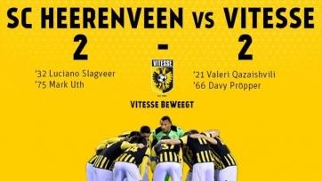 «Херенвен» и «Витесс» разошлись вничью в первом финале плей-офф за место в ЛЕ