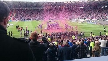 «Инвернесс» выиграл Кубок Шотландии
