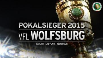 «Вольфсбург» выиграл свой первый Кубок Германии