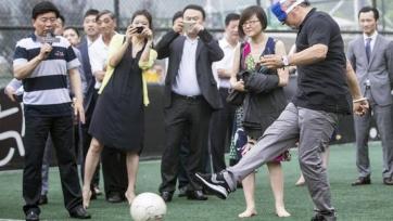 Роберто Баджо сыграл в футбол со слепыми