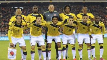 Колумбия определилась с составом на Кубок Америки