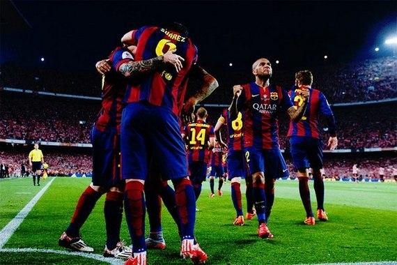 Они дошли до Берлина. «Барселона»