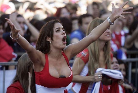 Копафилия. Представление участников Кубка Америки. Сборная Парагвая