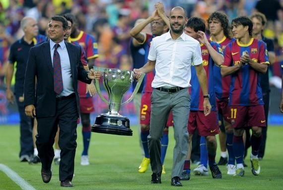 Чтобы помнили. Как руководство «Барселоны» пытается попасть в историю