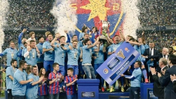 «Стяуа» завоевала Кубок Румынии