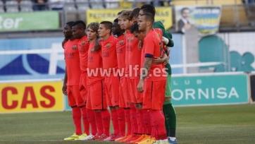 «Барселона Б» вылетела в третий дивизион