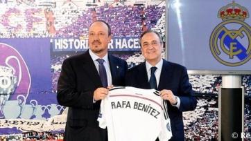 Флорентино Перес: «Бенитес наш человек, он сделает «Реал» сильнее»