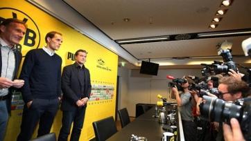 «Боруссия» представила Томаса Тухеля в качестве главного тренера