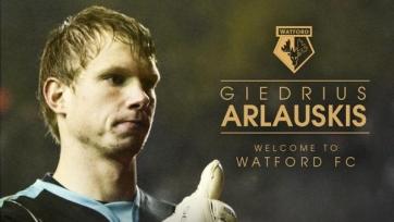 Гиедриус Арлаускис стал игроком «Уотфорда»