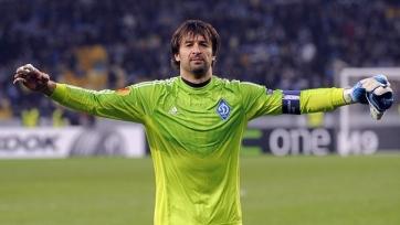 Шовковский сыграл 600-й матч в составе «Динамо»
