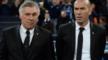 Зидан: «Мне жаль Анчелотти, но в «Реале» очень серьезный спрос»