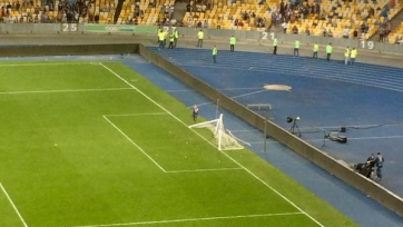 «Динамо» выступило с осуждением действий болельщиков после окончания игры с «Шахтером»