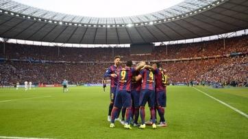 «Барселона» первой в Европе дважды сделала «хет-трик»
