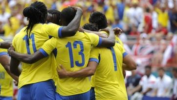 Колумбия обыграла Коста-Рику