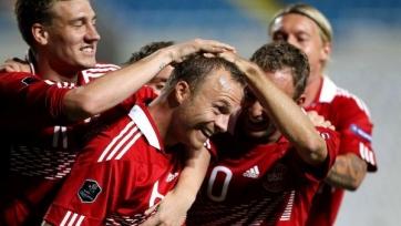 Датчане выиграли у черногорцев