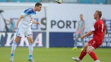 Чернов готов выйти на поле в матче с Австрией