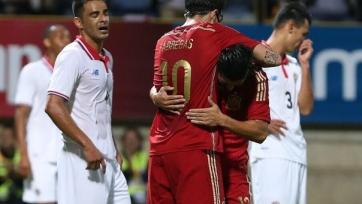 Испанцы одержали волевую победу над Коста-Рикой