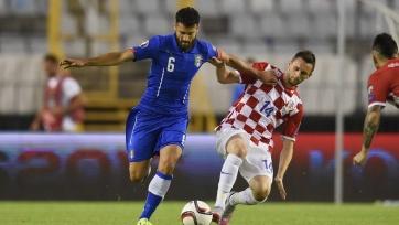 Хорватия – Италия: мировая при пустых трибунах