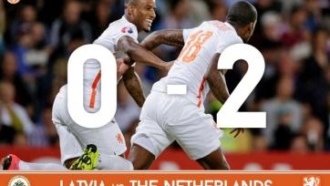 Голландия обыграла Латвию