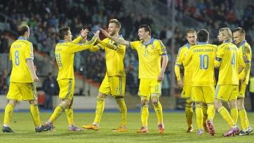 Футболисты сборной Украины обратились к своим болельщикам (видео)