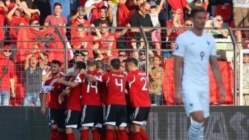 Албанцы неожиданно переиграли французов