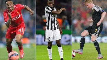 «Манчестер Сити» готовит 150 миллионов на трансферы Погба, Стерлинга и Де Брейне